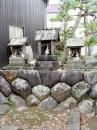 石神と石祠三社